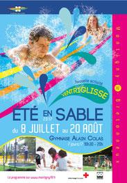 Affiche été en Sable - Montigny le Bretonneux