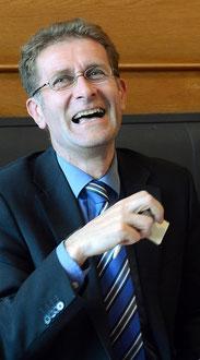 Es ist zum Lachen - das denkt nicht nur Regierungsrat Christoph Neuhaus.