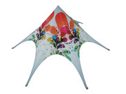 Custom printed Star Tents