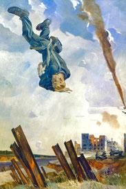 L'asso abbattuto di Aleksandr Deineka, 1943