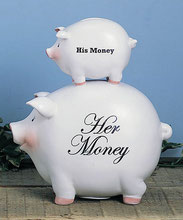 HIS money or HER money?