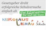 Petition für Weiterführung von Inklusiven Klassen an Kompetenzzentren/ Sonderschulen  Grafik: Petition (Link) / angep. spagra