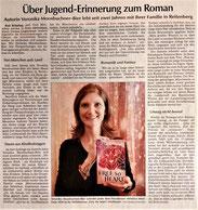 """Presseartikel Kötztinger Zeitung """"Free my heart"""", Veronica More"""