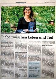 Presseartikel Mittelbayerische Zeitung, Behind the salt line, Veronica More