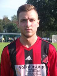 Traf als einziger Pottler: Dominik Steuper.
