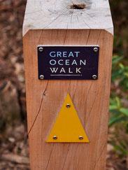Hier geht es lang zum Great Ocean Walk