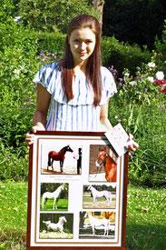 1. Platz Shagya-Araber LPO Trophy 2017 Sandy Fahrian & O'Bajan Sultan