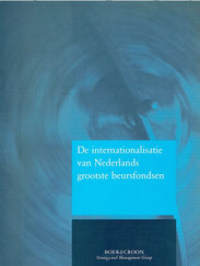 Position paper Boer & Croon: De internationalisatie van Nederlands grootste beursfondsen