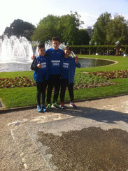 ..das DJK Läufer-Trio