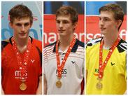 Badminton Schweizermeister Joel König
