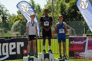Benjamin Rytz, 2. Rang Weitsprung U16M, 5.66m (PB)