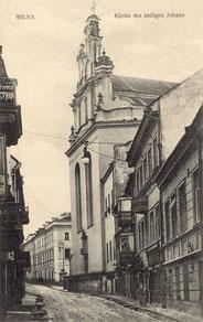 Šv. Jonų bažnyčia / St. John's Church