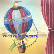 赤鼻くんシリーズ「紫陽花」:yuka画