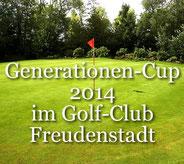 Clubmeisterschaften 2014 Einzel Tag 2 Generationen-Cup 2014 im Golf-Club Freudenstadt Foto stormpic Rainer Sturm