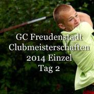 Clubmeisterschaften 2014 Einzel Tag 2 Golf-Club Freudenstadt Foto stormpic Rainer Sturm