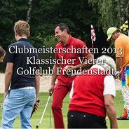 Clubmeisterschaften 2013 Klassischer Vierer Clubmeisterschaften 2014 Einzel Tag 2 Golf-Club Freudenstadt Foto stormpic Rainer Sturm