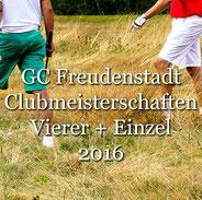 Golf-Club Freudenstadt Clubmeisterschaften 2016