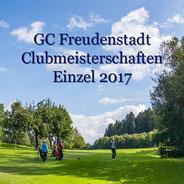 Clubmeisterschaften 2017 GC FDS