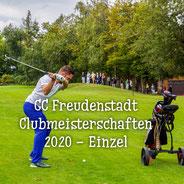 Clubmeisterschaften 2020 - Einzel FDS