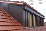 Haus mit Steildach