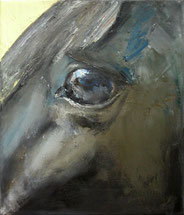 Hástigur vom Freyelhof, Öl auf Baumwollgewebe, 30 x 35 cm, 2006