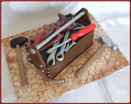 gateau boite a outils