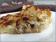 recette tarte salée au roquefort et noix