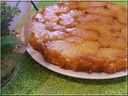 recette tarte tatin à l'ananas frais