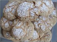 biscuits cuillères aux amandes