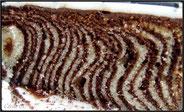 gateau zebre vanille chocolat