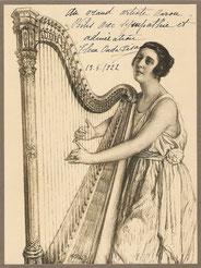 Ouda Elena Pisam, misicienne 1922