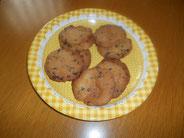 出来上がったクッキー