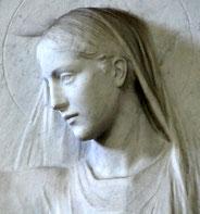 St-Dominique et la Vierge