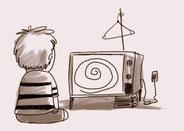 Link al espacio dedicado a la radio en la televisión.