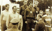 1952 Helsinki: First team competition won by Hungary over Sweden and Finland
