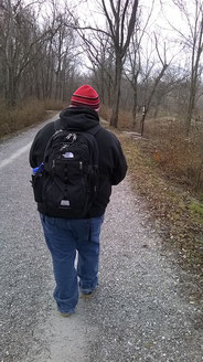 Staying on the trail, carrying everything I need including water, and generally being respectful.