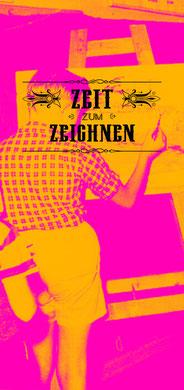 Zeit zum Zeichnen:Jeden Montag ab 18 Uhr im Kurt Lade Klub. Mehr Infos unter www.zeitzumzeichnen.wordpress.com