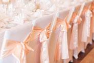 Stuhlhussen, Stehtischhussen, Bierbankhusse, Überwurf, Festliche Dekoration, Geburtstag, Hochzeit, Firmenfeier Dekoration