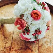 Bouquet de fleurs pour les commerçants de l'UCAL de lezay 79120