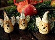 Weihnachtliche Keramik