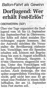 07.07.1999 Schweinfurter Tagblatt