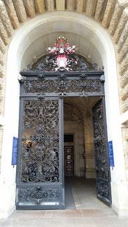 Rathaus Eingangsportal