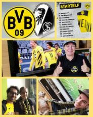 3. Runde BL, BVB - SC Freiburg, 4:0