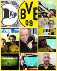 6. Runde BL, Arminia Bielefeld - BVB, 0:2