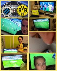 3. Runde CL, FC Brügge - BVB, 0:3