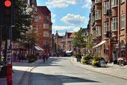 Das Zentrum der Stadt Alberg