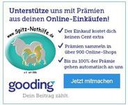 Gooding - Einkaufen + Spenden für die Spitz Nothilfe