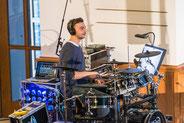 Andy Schwendener, Drums