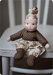 Кукла из ткани для самых маленьких купить в санкт-петербурге