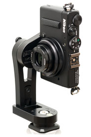 pocketPANO COMPACT Nodalpunktadapter für die Nikon Coolpix A